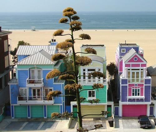 Ocean Front Homes, Manhattan Beach, California