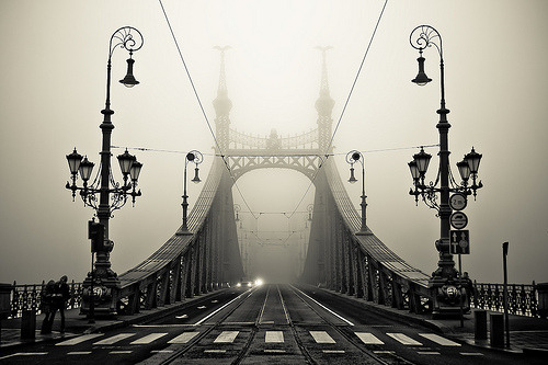 The Bridge  Gellert, Budapest, Hungary