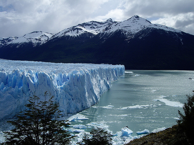 Perito Moreno Glacier, Los Glaciares National Park - Patagonia, Argentina. It is one of the most important tourist attractions in the Argentine Patagonia. The Perito...