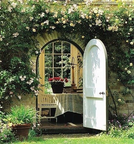 Arched Garden Entry, Provence, France