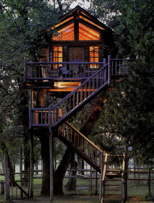 Lighted Treehouse, Port Townsend, Washington