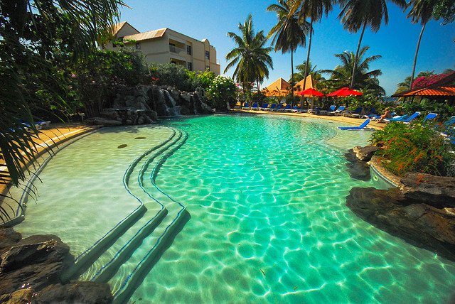by Funk2000 on Flickr.The Fantasy Pool at the Grenada Grand Beach Hotel, Grand Anse, Grenada.