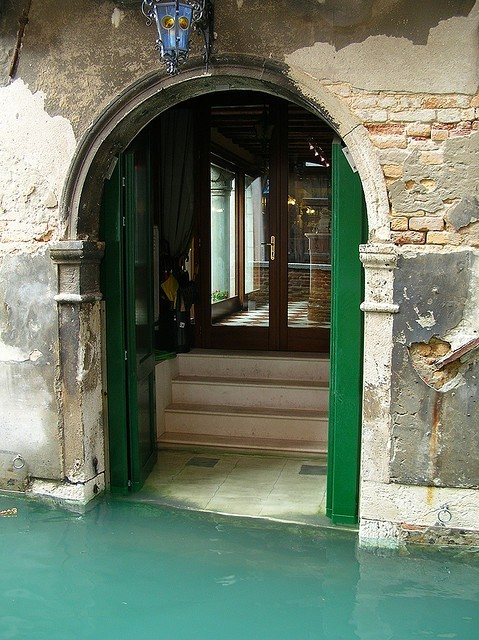 Watery Entryway, Venice, Italy