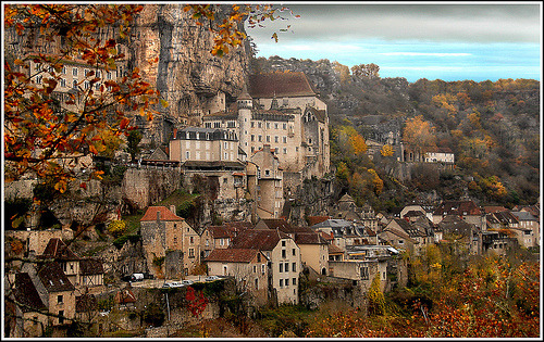 Ancient Village, Rocamadour, France