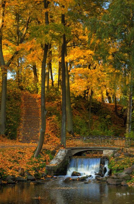 Waterfall Bridge, Woodstock, Vermont