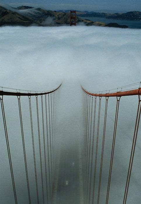 Afternoon Fog, The Golden Gate, San Francisco