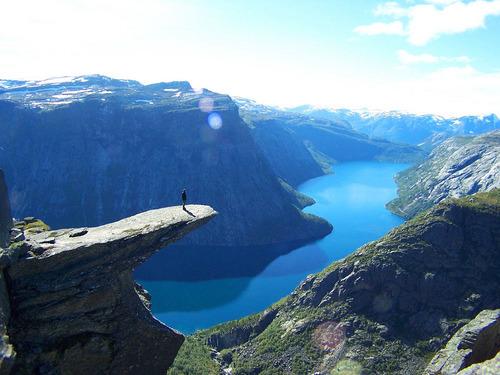 Trolltunga, Hordaland Fylke, Norway