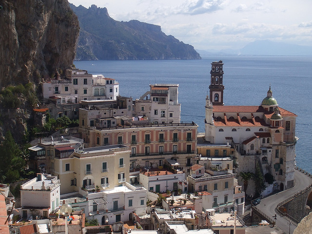 by platano125 on Flickr.The beautiful village of Atrani on the Amalfi Coast in southern Italy.