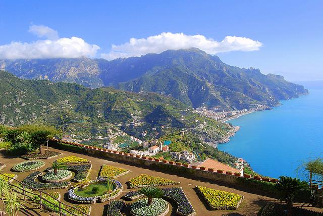by Atilla2008 on Flickr.Beautiful gardens above Ravello on Amalfi Coast, Italy.