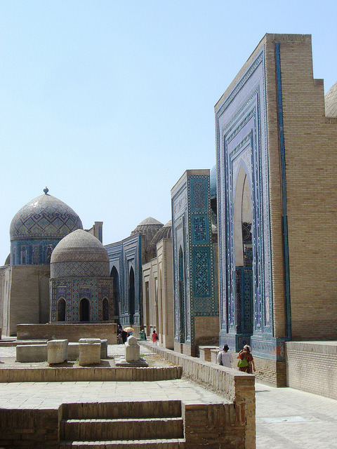 by magellano on Flickr.Sights and colours of the silk road, Samarkand, Uzbekistan.