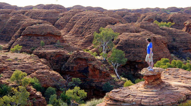 by savinger on Flickr.Kings Canyon in Watarrka National Park - Northern Territory, Australia.