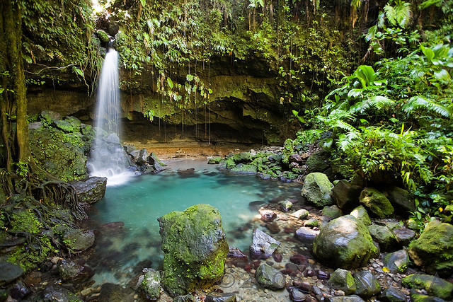 Emerald Pools, within the Morne Trois Pitons National Park, Dominica