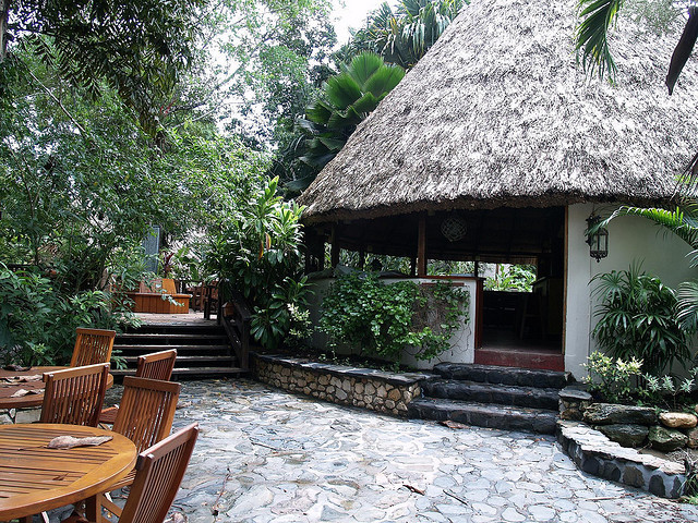Chaa Creek Lodge in the jungle of Belize