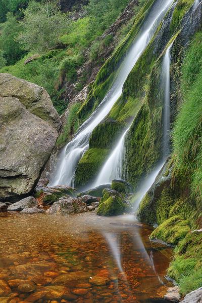 Powerscourt Waterfall, the highest waterfall in Ireland