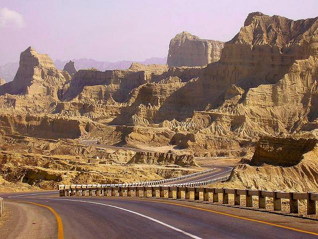 Makran Costal Highway, Balochistan, Pakistan