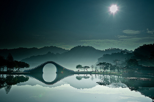 Moon Bridge, Tapei, Taiwan