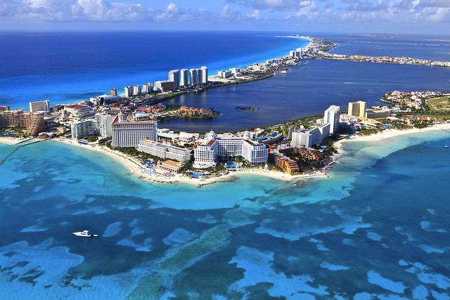Colours of the Caribbean in Cancun, Mexico