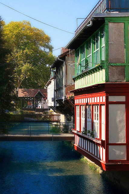 The colorful and picturesque town of Samobor, Croatia
