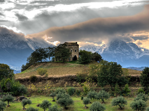 Hilltop Home, The Pyrenees, Spain