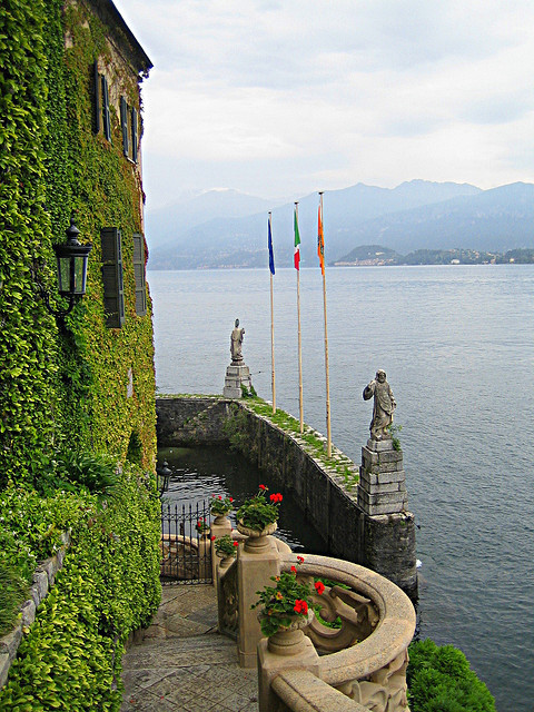 View from Villa Balbianello in Lenno - Lake Como, Italy