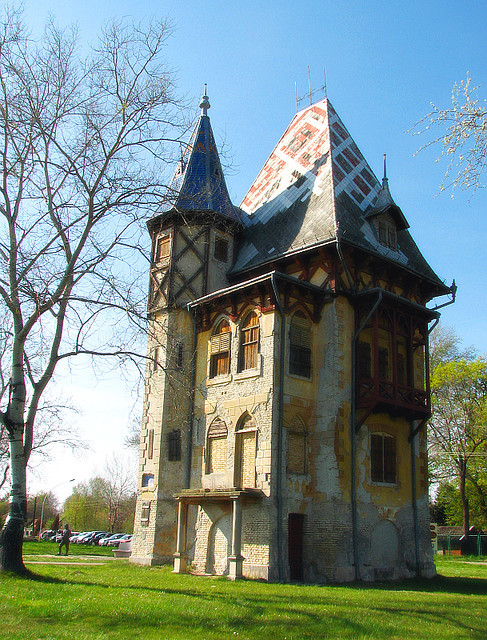 Owl Castle at Lake Palic, Vojvodina, Serbia