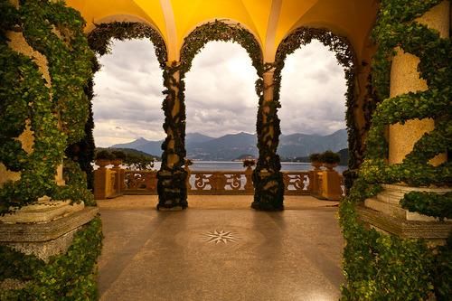 Ivy Columns, Lake Como, Italy