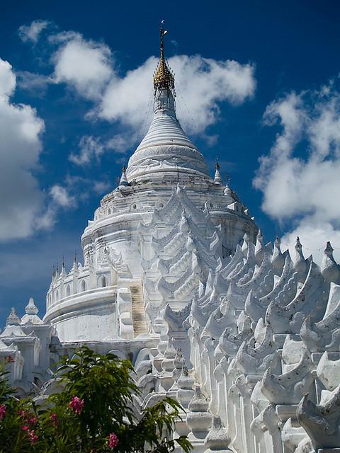 Hsinbyume Paya in Mingun, Mandalay, Myanmar