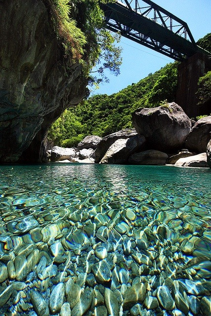 Crystal Clear, Taroko River, Taiwan