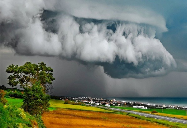 Darkening Skies, Ancona, Italy