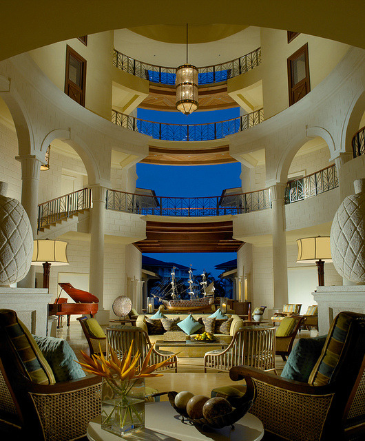 Interior design at The Landings, Private Trade Winds Resort, St. Lucia