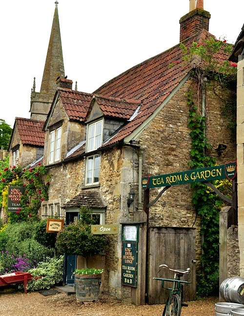 King Johns Tea Room, Lacock, England