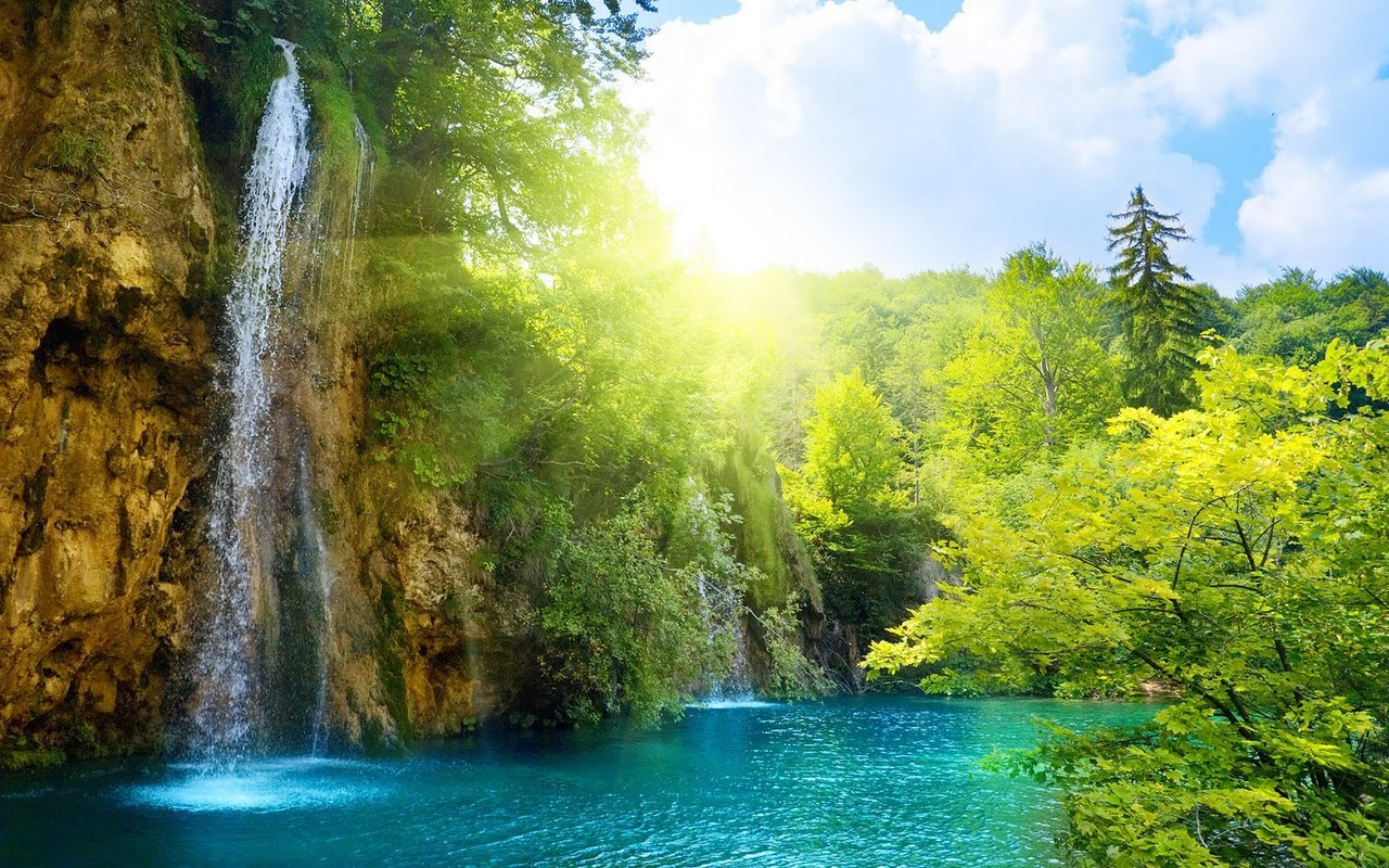 Waterfalls, Plitvice, Croatia