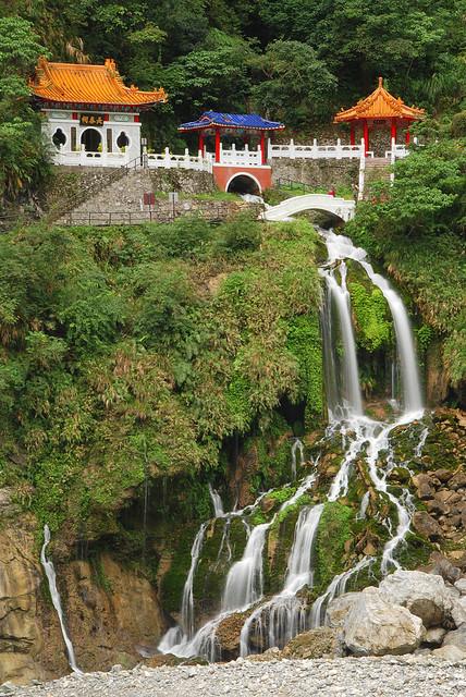 Eternal Spring Shrine in Taroko Gorge, Taiwan
