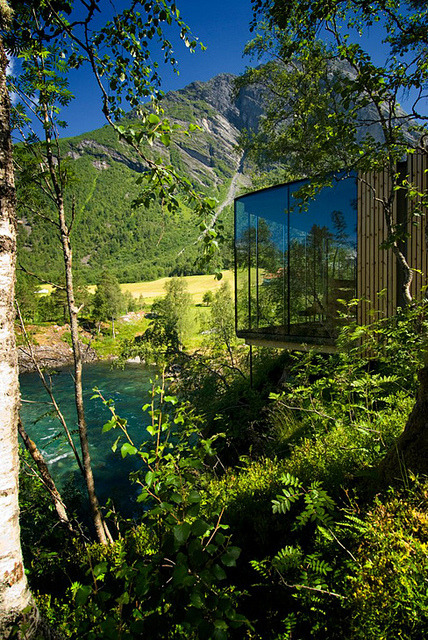 Juvet Landscape Hotel in Valldal, Norway