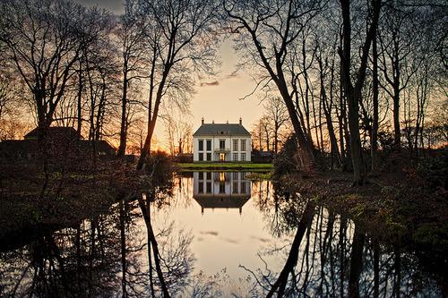 Dusk, Canal House, The Netherlands
