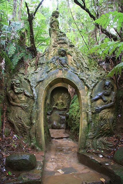 William Ricketts Sanctuary in Mount Dandenong, Australia