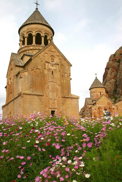 Noravank Monastery, a 13th century old church near Yeghegnadzor, Armenia