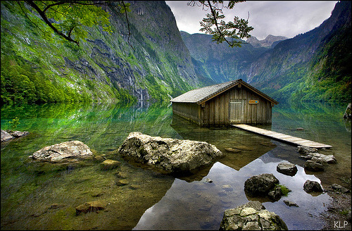 Boat House, Berchtesgaden National Park, Germany