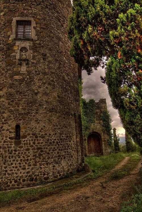 Ancient Castle, Spain