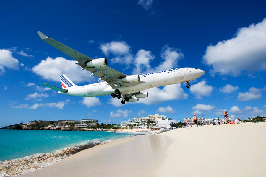 Maho Beach, Sint Maarten