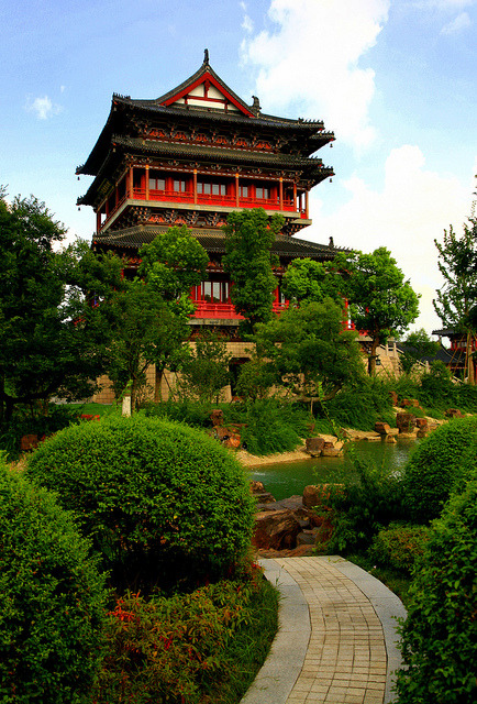 Taizhou temple of heaven, China