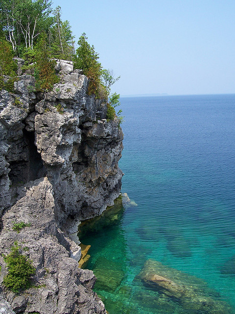 Bruce Peninsula National Park in Ontario, Canada