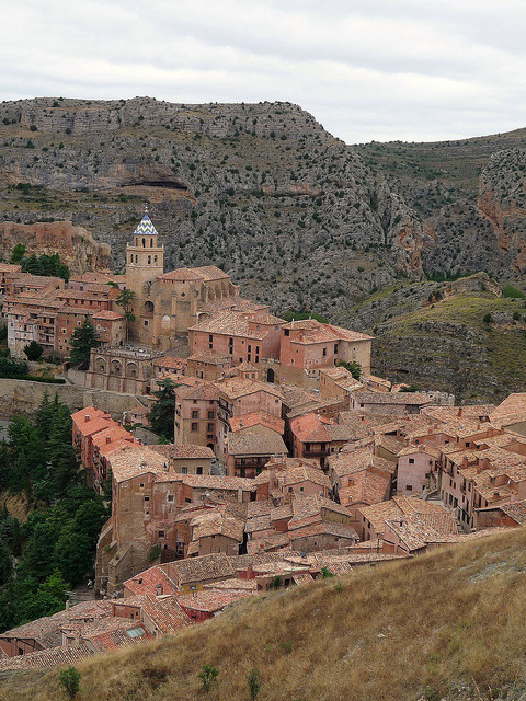 The medieval town of Albarracin in Teruel, Spain