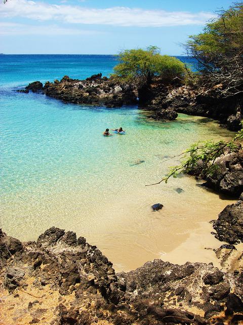 Hapuna beach, Big Island / Hawaii