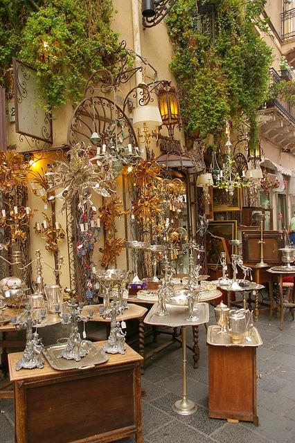 On the streets of Taormina, Sicily / Italy