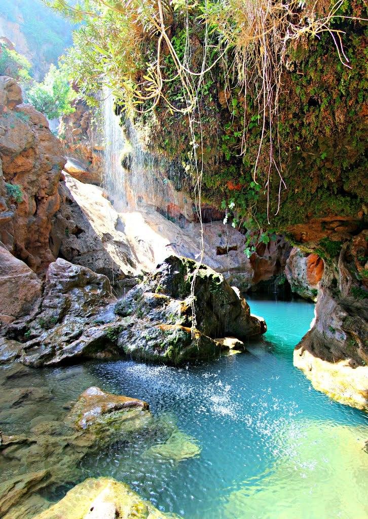 Cascades Ida Ou Tanane, Agadir Province / Morocco
