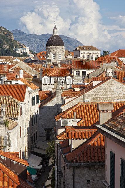 Rooftop view in Dubrovnik / Croatia