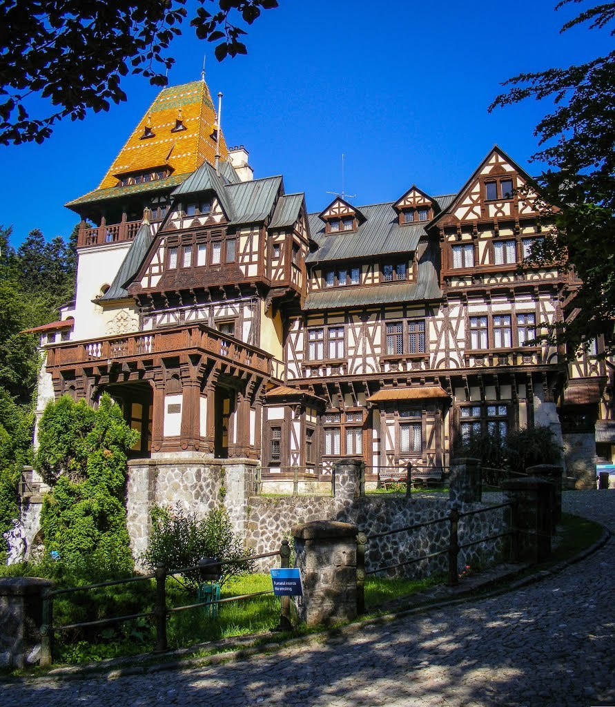 Pelisor Castle in Sinaia / Romania