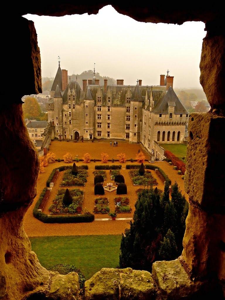 Chateau de Langeais, built in 15th century, Indre-et-Loire / France
