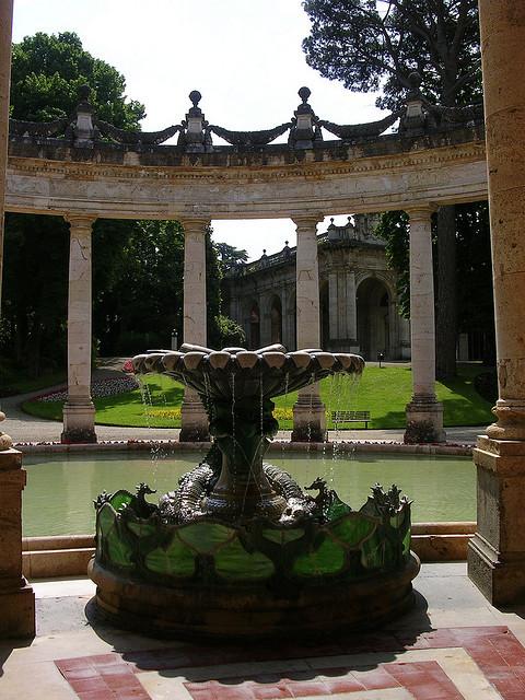 Thermal baths at Montecatini Terme, Tuscany / Italy